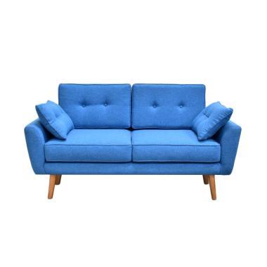 Livien Furniture Stool Minimalis Shabby Tiffany Sofa - Blue