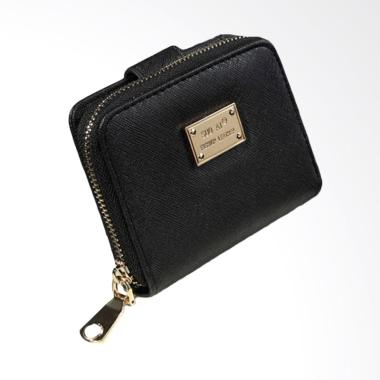 Lansdeal Lady Women Purse Card Holder Dompet Wanita - Black