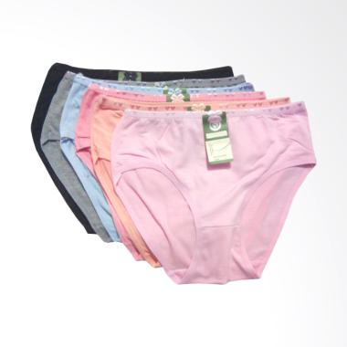 OEM Say Yes Celana Dalam Wanita - Multicolor [6 pcs]