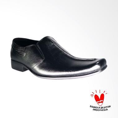 LISMEN Encore LM-9658 Sepatu Kulit Pria - Hitam