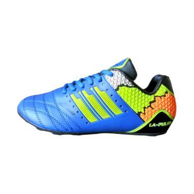 Sevenray La Pulga JR Sepatu Futsal Anak - Biru Hijau