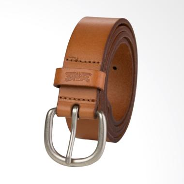 Levi's Genuine Leather Belt - Icon Light Brown [77135-0734]