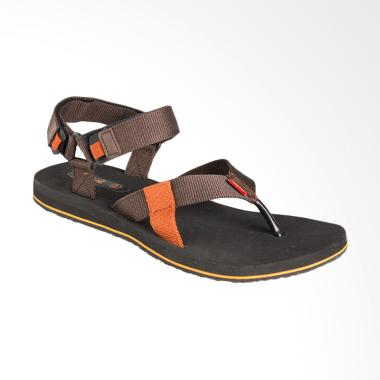 Carvil IZZY-GM Sandal Gunung Pria - Brown Orange