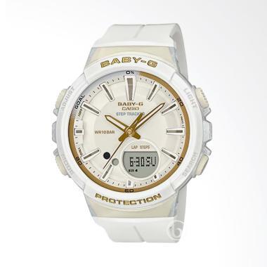 CASIO Baby-G BGS-100GS-7A Glamorous ... Jam Tangan Wanita - White
