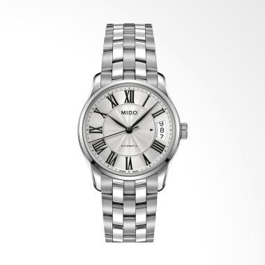 harga Mido M024.207.11.033.00 Belluna II Automatic Jam Tangan Wanita - Silver Blibli.com