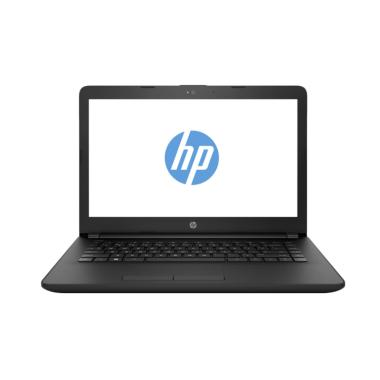 harga HP 14-BS702TU Notebook - Black [Intel Celeron N3060/4GB RAM/500GB HDD/14 Inch/Win10] Blibli.com