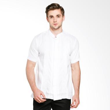Erin Collection Isbat Koko Baju Muslim Pria - Putih
