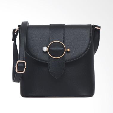Lorica by Elizabeth Venzella Sling Bag Wanita - Hitam