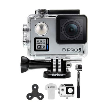Brica B-PRO 5 Alpha Plus 2 Spin + T ... rt Action Camera - Silver