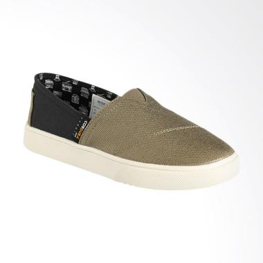 Wakai WKI-SLW11719- CORDURACHUO Sepatu Wanita - Olive Black