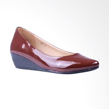 Ghirardelli Wedges Chandelier Sepatu Wanita - Brown