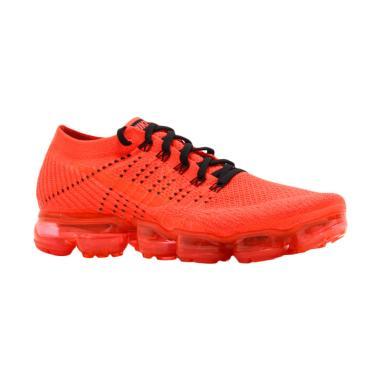 NIKE Men Vapormax Clot Sepatu Sneakers Pria - Orange [AA2241-006]