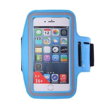 harga KarnaKamu Tas Handphone Lengan Unik untuk Jogging Armband - Blue Blibli.com