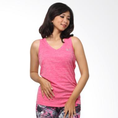 UNDER ARMOUR Tech W Tanktop Olahraga Wanita - Pink [01UATT0011] L Pink