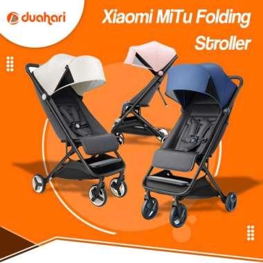 harga Unik Xiaomi MiTu Folding Baby Stroller Kereta Dorong Bayi Portable - Pink Murah Blibli.com