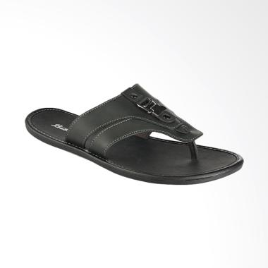 Bata Press Sandal Pria - Black [8716661]