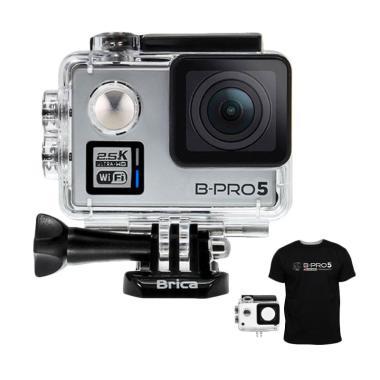 Brica B-PRO 5 Alpha Plus Edition V2 ... a - Silver + Free T-Shirt