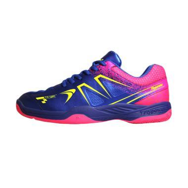Flypower Plaosan 5 Sepatu Badminton - Royal Blue Hot Pink