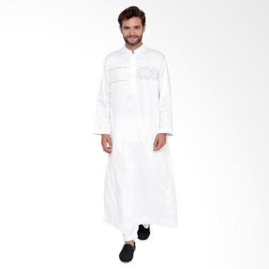 Arafah Vinam Baju Gamis Pria - White
