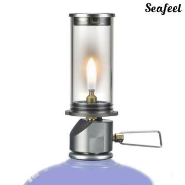 harga â™®Seafeel  BRS-55 Dreamlike Candle Lamp Hanging Burner Outdoor Camping Gas Light Blibli.com