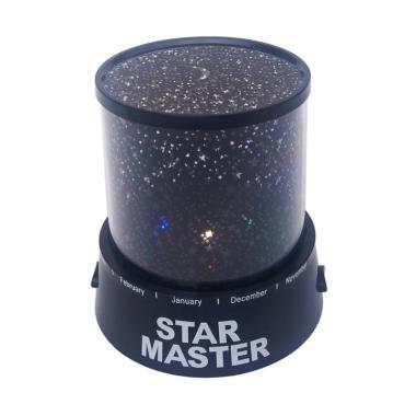 STAR MASTER Lampu Tidur Proyektor - Hitam