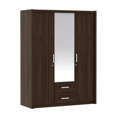 Pro Design Batavia Lemari Pakaian - ...  1 Pintu Cermin / 2 Laci]