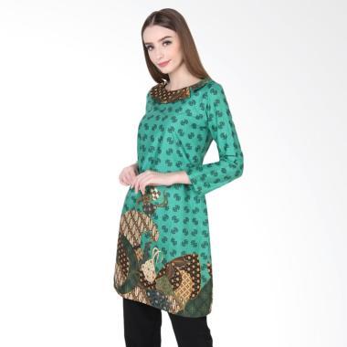 rianty_rianty-batik-dress-wanita-meidina---green_full04 Review Harga Batik Modern Untuk Wanita Terlaris tahun ini