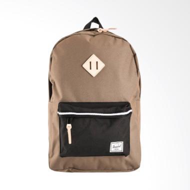 Herschel Heritage Cub Backpack - Black White