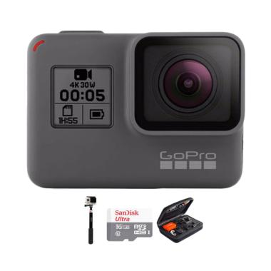 GoPro Hero 5 Combo Deluxe 32GB Action Camera - Black