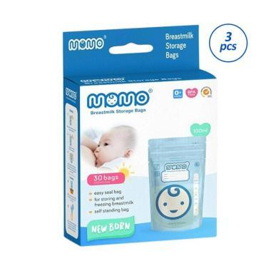 MOMO Newborn Kantong ASI [100 mL/ 30 Pcs/ 3 Pack]