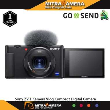 harga Kamera Sony ZV 1 Vlog Compact Digital Camera Blibli.com