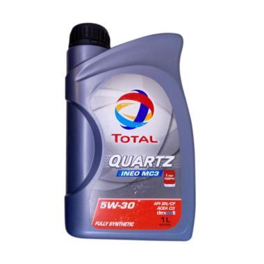 Total Quartz Ineo MC3 5W30 Dexos 2 Oli Pelumas Mobil 1 L