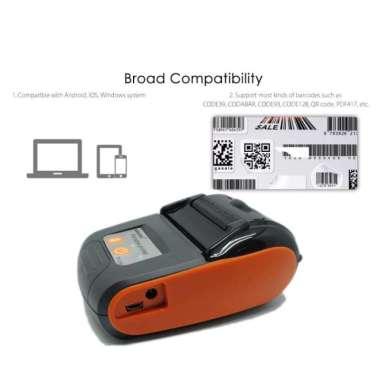 harga Unik GOOJPRT POS Bluetooth Thermal Receipt Printer 58mm - JP-PT210 Murah Blibli.com