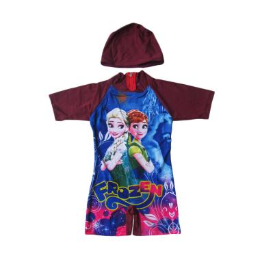 Rainy Collections Karakter Frozen Baju Renang Bayi - Maroon