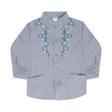 MacBear Ahmad Baju Koko Anak - Dark Blue