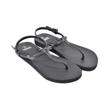 harga Ataru sandal wanita t strap ukuran 39 - hitam Blibli.com