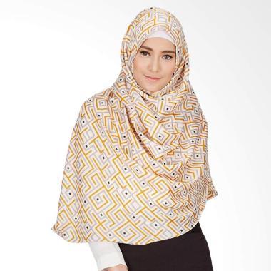 LAMAK Alexandria Khimar Jilbab - Kuning
