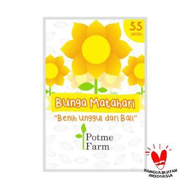 Potme Farm Benih Tanaman Bunga Matahari