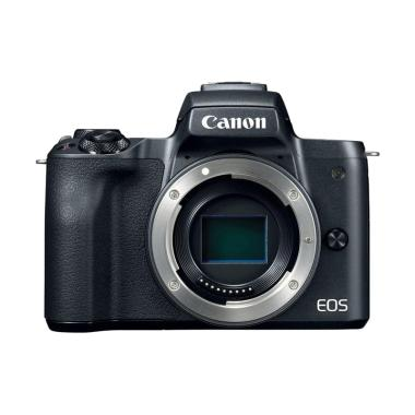 harga Canon EOS M50 Kamera Mirrorless - Black [Body Only] Blibli.com