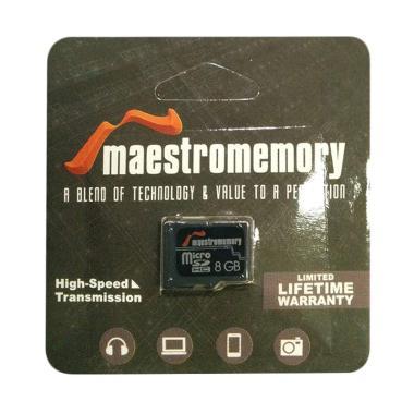 Maestro MicroSD Memory Card [8 GB]