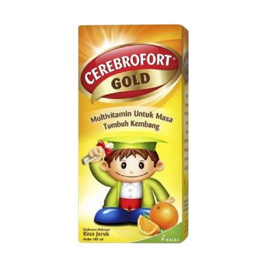 Cerebrofort Gold Org Multivitamin Anak [100 mL]