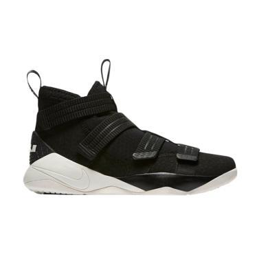 NIKE Lebron Soldier Sepatu Basket Pria - Black