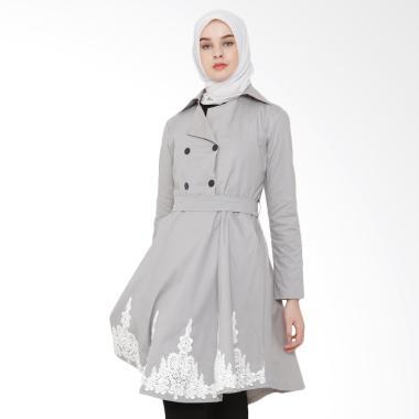 JAVA SEVEN JNE 007 Blouse Muslim Wanita - Abu