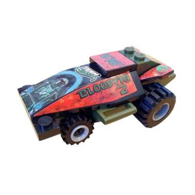 Emco 8981 Bloodfin 2 Mini Brix Racer Hot Wheels Blocks & Stacking Toys
