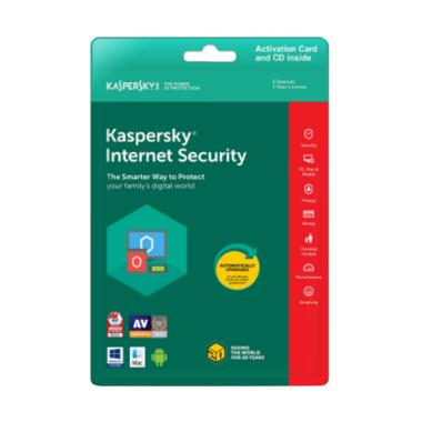 Kaspersky Internet Security 2018 [1 User/ 365 Hari]