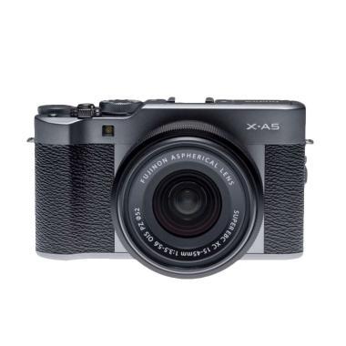 Fujifilm X-A5 Kit 15-45mm f/3.5-5.6 ...  Mirrorless - Dark Silver