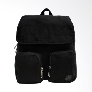 Pulcher Bags Daena Mini Backpack Tas Wanita - Black