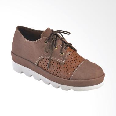 harga JAVA SEVEN BJI 688 Sepatu Kasual Wanita - Coklat Blibli.com