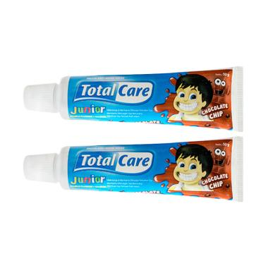 Total Care Junior Toothpaste Chocolate [50 g/Isi 2]