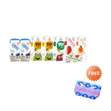 Heavenly Blush Birthday Package Blibli B Yogurt + Free Exclusive Bag